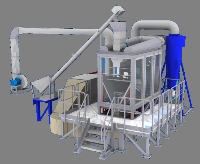 WUT lignite dryer in pilot scale 2