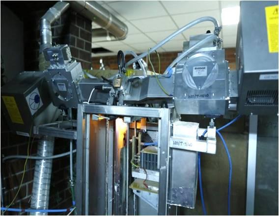 microwave plasma setup