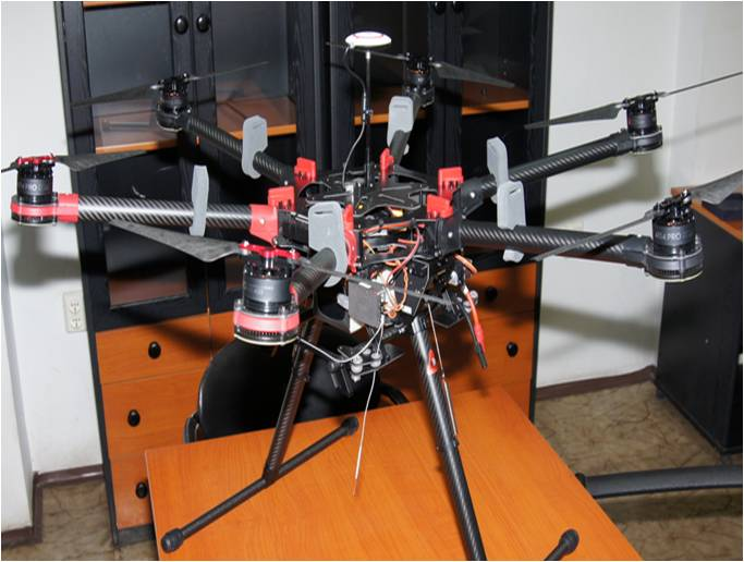 dron for surface inspection